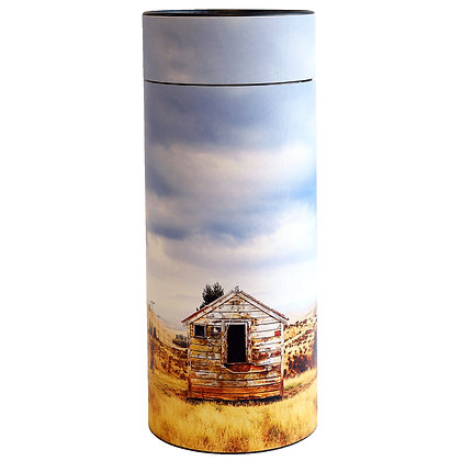 remembrance cremation ash scatter tube shepherds hut ©tributes funeral supplies