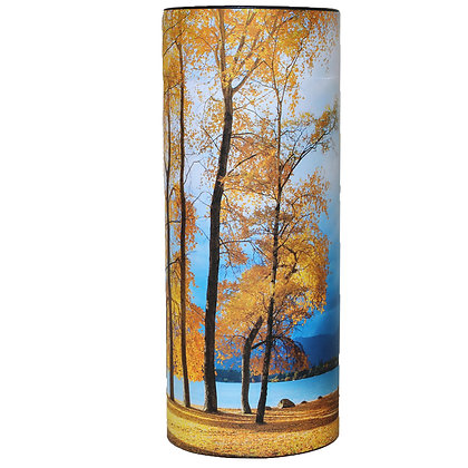 lake Wanaka autumn trees cremation ash scatter tube remembrance ©tributes funeral supplies