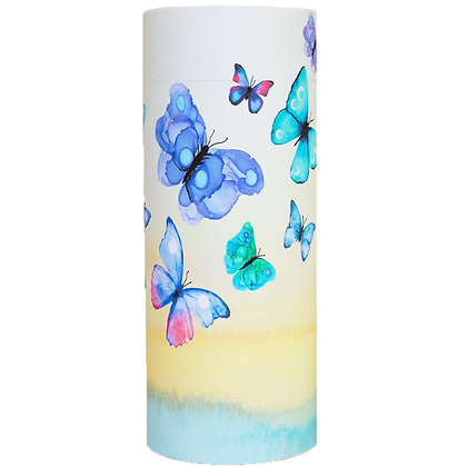 keepsake cremation ash scatter tube butterflies ©tributes funeral supplies