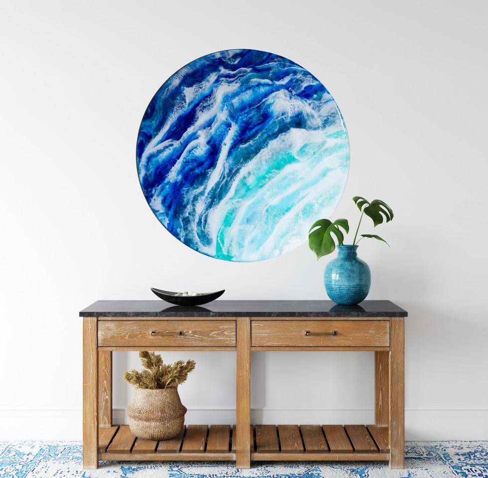 Resin wall art ocean design round-1.jpg