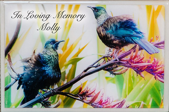 ceramic remembrance tile for loved ones custom designs ©tributes funeral supplies