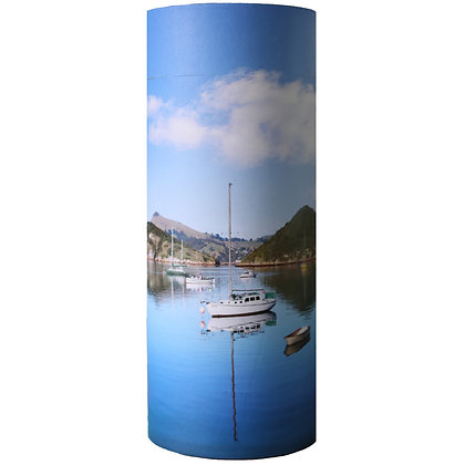 remembrance cremation ash scatter tube boat harbour yacht ©tributes funeral supplies