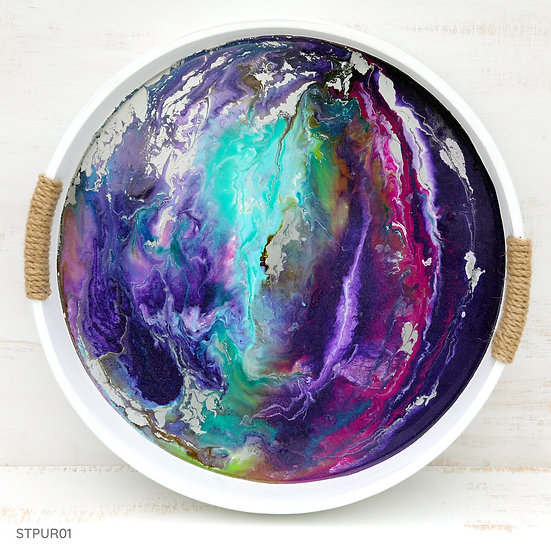 Serving Tray Purple Passion