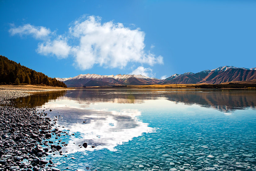 Photo of Lake Tekapo, McKenzie region, South Island, New Zealand