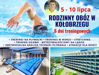 Rodzinny obóz w Kołobrzegu 5-10 lipca