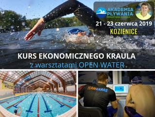 Kurs Ekonomicznego Kraula z warsztatami Open Water, 21 - 23 czerwca, Kozienice