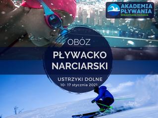 Obóz Pływacko-Narciarski, 10-17 stycznia Ustrzyki Dolne