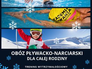 Obóz Pływacko-Narciarski dla całej rodziny!
