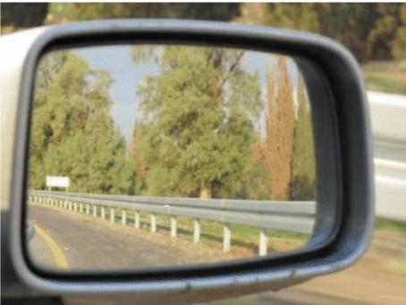 כיוון מראות ברכב