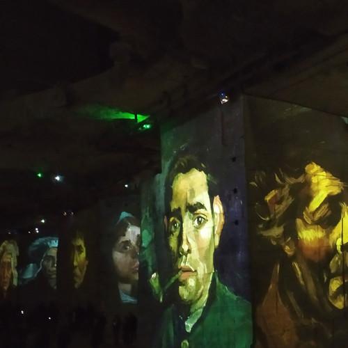 ואן גוך , מופע אור קולי במערת גיר דרום צרפת
