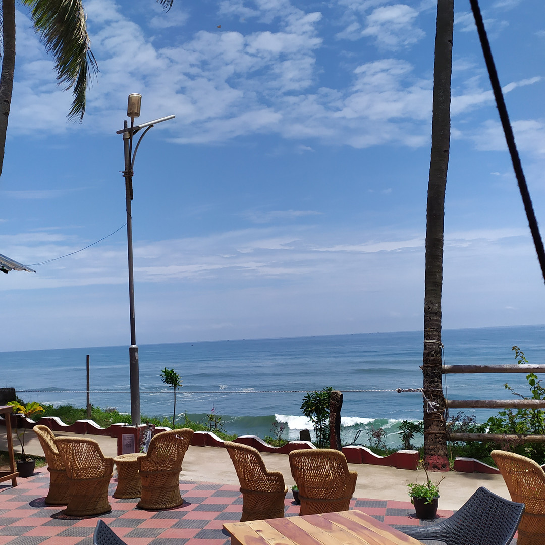 על הים בקוצ'ן דרום הודו