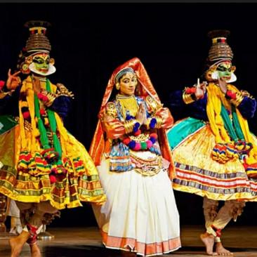 מופע ריקוד טקאטאלי דרום הודו