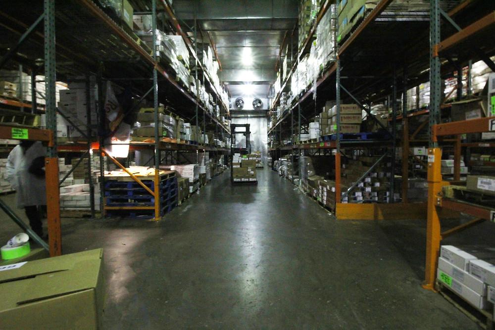 Metal Halide Fixture Cold Storage