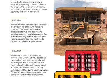 Safety Solutions for Haul Truck Traffic