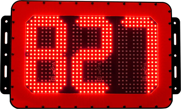 LED Vehicle id number board Red