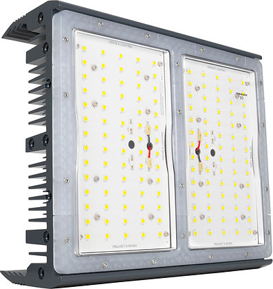280-Watt Ultra Wide Flood Beam Pattern LED Light with Stainless Steel Bracket