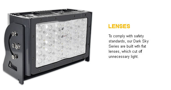 140W Series Dark Skies Compliant LED Fixture