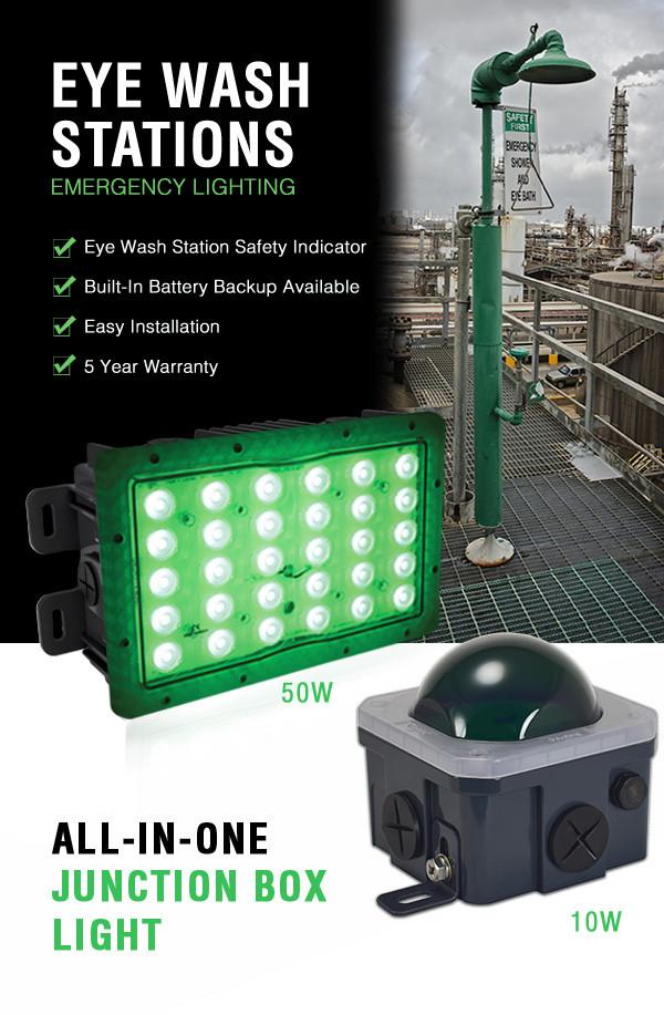 Eye Wash Station Emergency Lighting