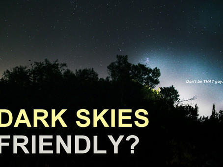 Dark Skies Compliant Fixtures