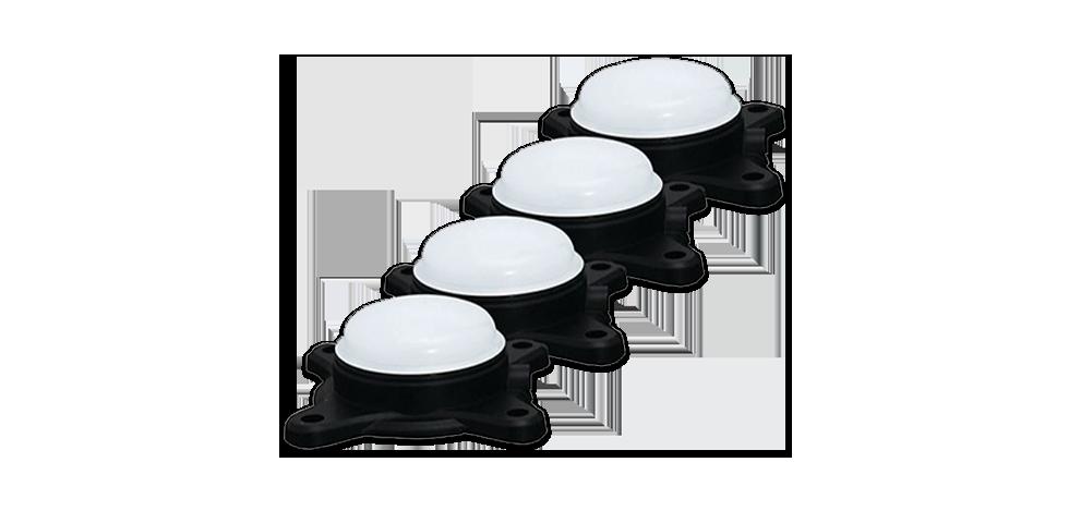 White Pro Pod Lights