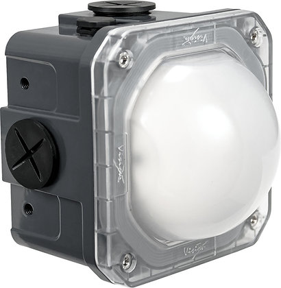10-Watt Junction Box Light Frosted Lens
