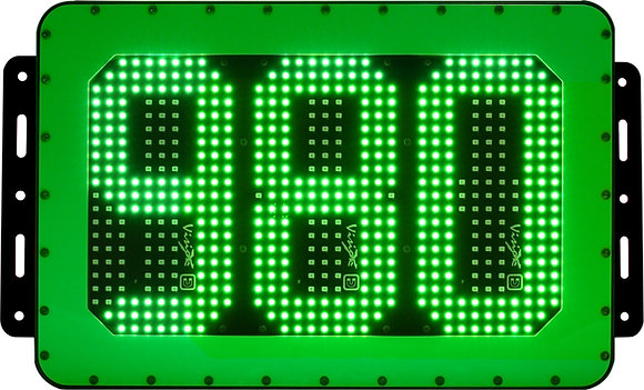 Mining ID Board Number Sign Green