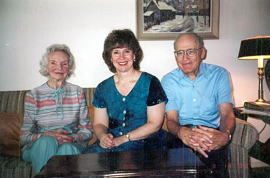 Kathy with The Phenixes