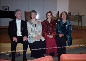 Women Composers Festival, Hartford CT