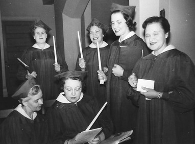 The Branscombe Choral, 1954
