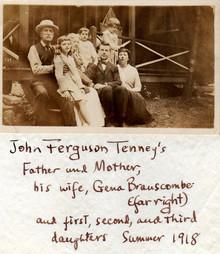 John Ferguson Tenney & Family 1918