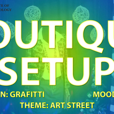 Art Street - Boutique Setup by Students