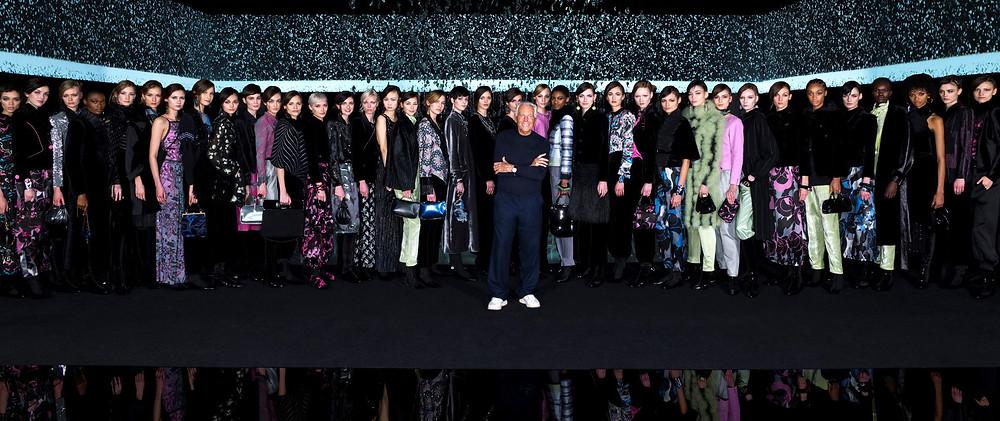 Giorgio Armani Fall/Winter 2020-2021 Women's Fashion Show