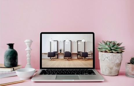 """{Projet en cours} Création d'un site internet """"Salon de coiffure végétal"""""""