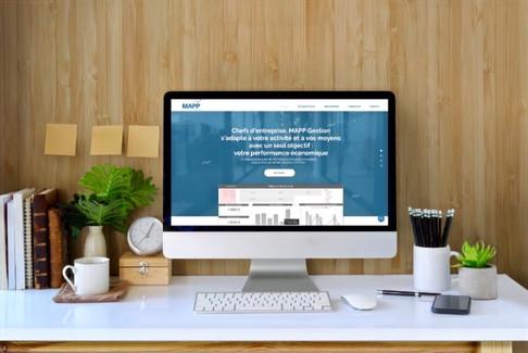 Création du site internet MAPP Gestion