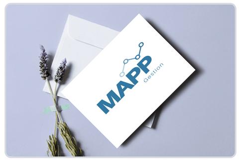Création du logo MAPP Gestion