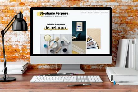 Création du site internet Stéphane Perpère