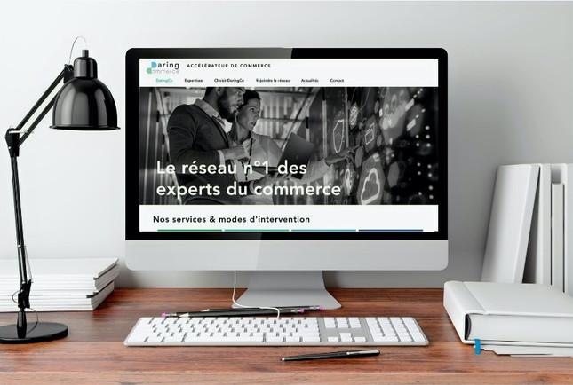 Refonte du site web Daring Commerce