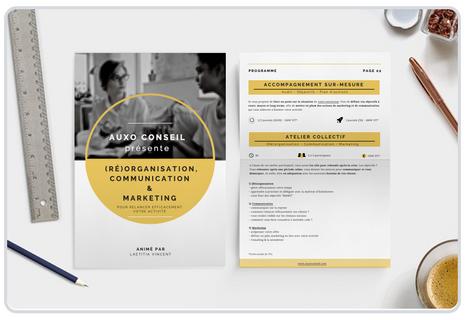 Création d'une brochure de formation