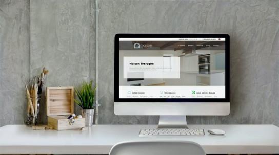 Amélioration du référencement naturel du site web Maison Bretagne Rénovation