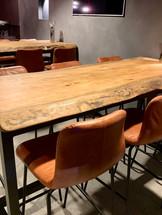 Custom High Table and Bar Stools