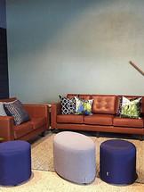 Custom Lounge & Ottoman Example