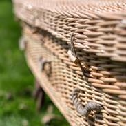 Willow coffin detail