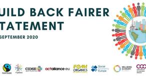 Build Back Fairer Statement