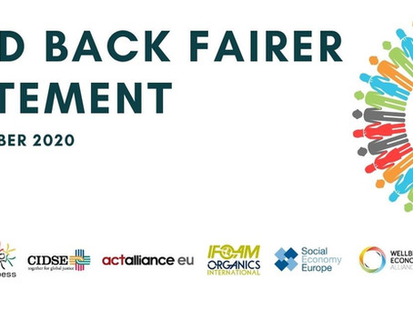 Build Back Fairer Statement