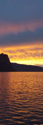 Sonnenuntergang in Luzern