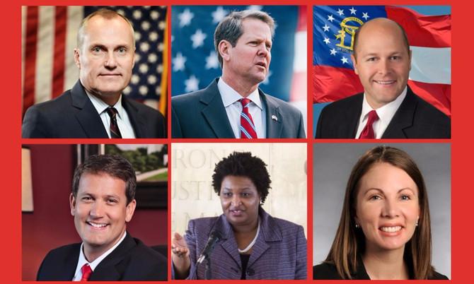 Almost $8 Million Raised in Georgia's Governor Race