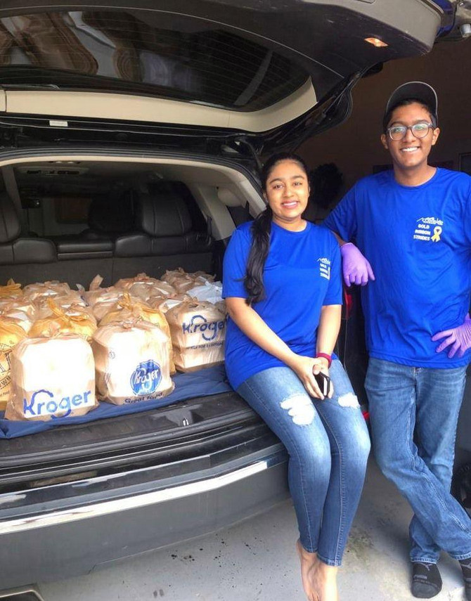 Johns Creek siblings use big heart for service to pay it forward during pandemic