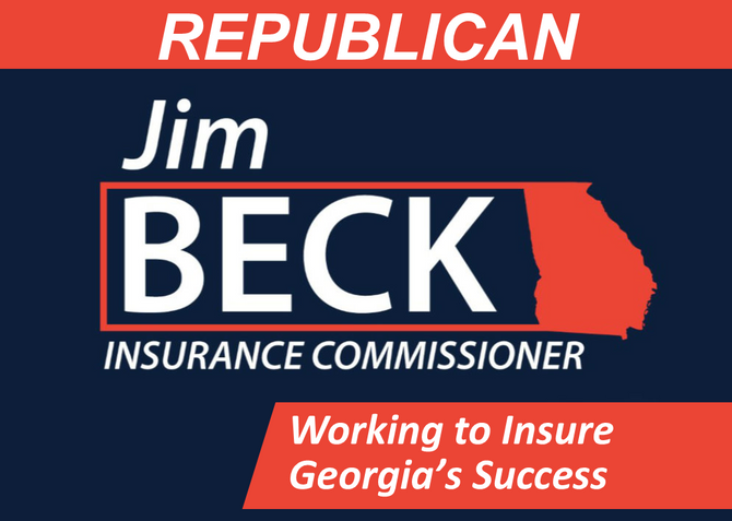 Jim Beck Reports $1 Million in Funding Haul for Insurance Commissioner Campaign