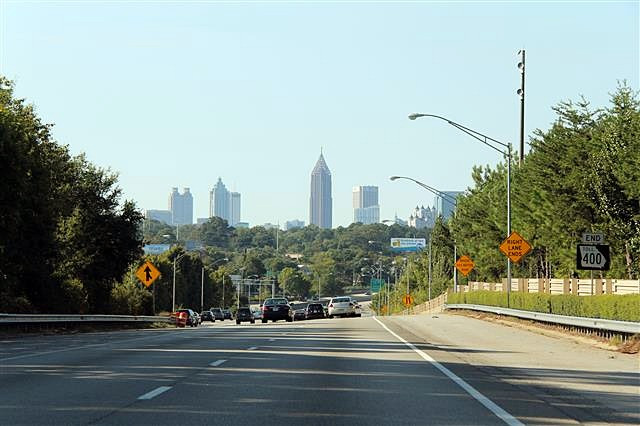 Governor Deal Announces SR 400 Transit Project
