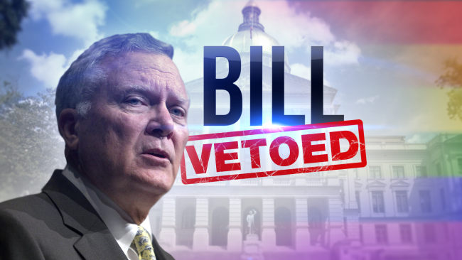 Nathan Deal's 'Religious Liberty' Veto Targeted at Cleveland GOP Meeting